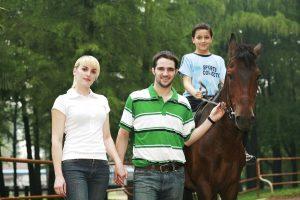 parent-enfant-équitation